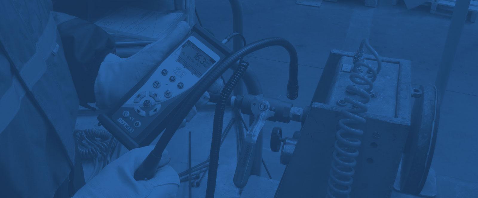 Druckluft Leckagensuche mit Ultraschall