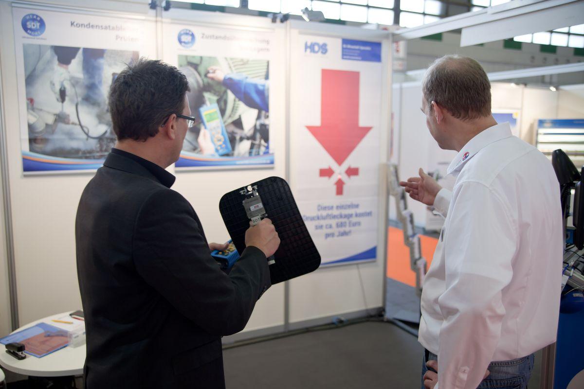 HDS erfolgreich auf der Maintenance in Zürich und Dortmund