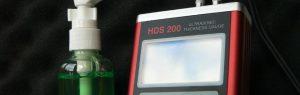 Wanddickenmessung mit Wandstärkenmessgerät HDS 160 / 200