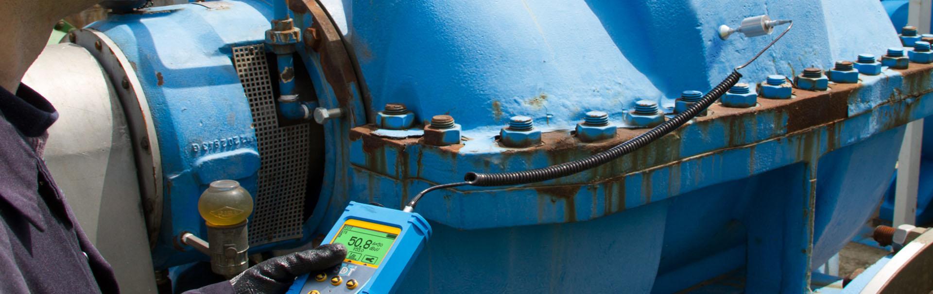 Überwachung von hydraulischen Systemen mit Ultraschall
