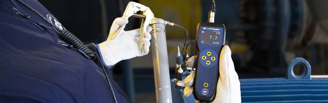 LUBEChecker Lagerschmierung mit Ultraschall