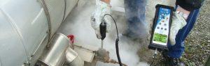 Prüfung von Kondensatableiter mit SDT 200